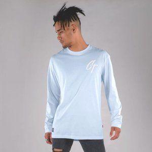 Cuzy T Men's Blue Long Sleeve Iconic T-Shirt